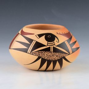 Maho, Garrett –  Bowl with Rainbird Design