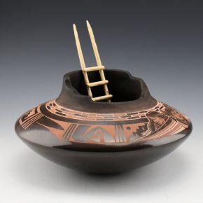 Naranjo, Johnathan – Wide Jar with Hopi Maidens