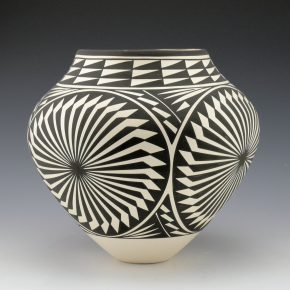 Victorino, Katherine – Jar with Four Eagle Feather Medallions