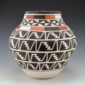 Sarracino, Myron – Four Color Star & Lightning Design Jar