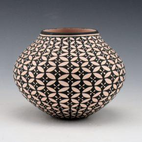 Estevan, Paula – Jar with Butterfly Design
