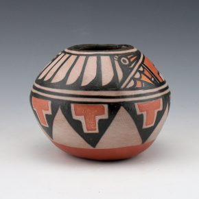 Tenorio, Robert  – Small Bowl with Bird Design