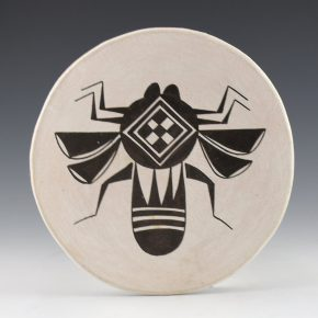 Garcia, Sarah – Plate with Water Bug (1970's)