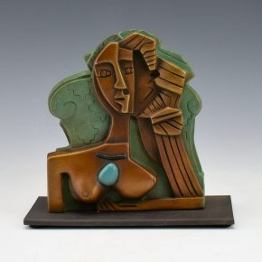 "Garcia, Tammy – ""Seeded Woman II"" Bronze.  3/35"