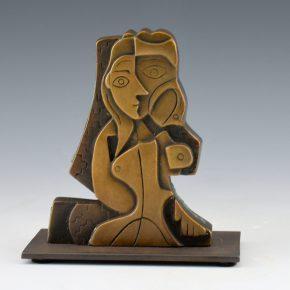 """Garcia, Tammy – """"Seeded Woman I"""" Bronze.  Ed. 35"""