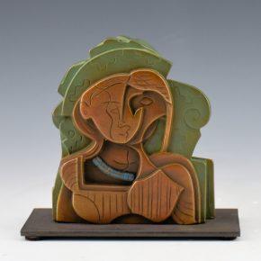 "Garcia, Tammy – ""Seeded Woman II"" Bronze.  6/35"