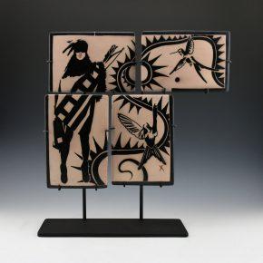 Ortiz, Virgil – Tahu 1680 & Hummingbird 4 Tile Set