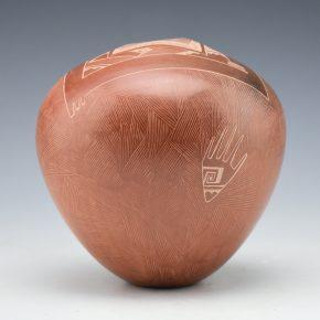 Naranjo, Dusty – Jar with Hand Designs