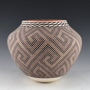 Antonio, Frederica – Polychrome Wind Design Jar