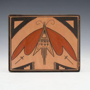 Sahmie, Jean – Tile with Moth