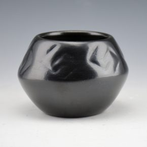 Year Flower, Lucy – Bowl with Impressed Cloud Designs (1973)