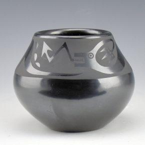 "Martinez, Maria –  Bowl with Avanyu, ""Maria + Popovi"" (1956-9)"