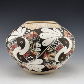 Naha, Rainy – Bowl with Interlocking Birds