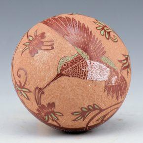 "Lonewolf, Rosemary ""Apple Blossom"" – Seedpot with Hummingbird"