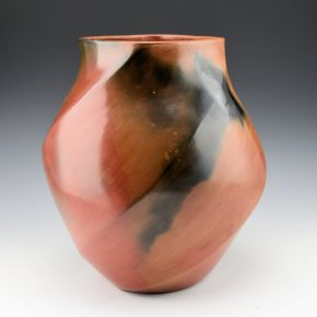 Manymules, Samuel  – Tall Wide Faceted Melon Jar