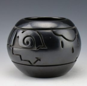 Roller, Tim -Bowl with Sun and Rain Designs