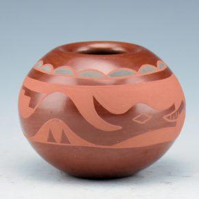 Baca, Annie – Tri-Color Bowl with Avanyu