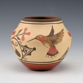 Medina, Elizabeth & Marcellus – Jar with Butterfly and Hummingbird