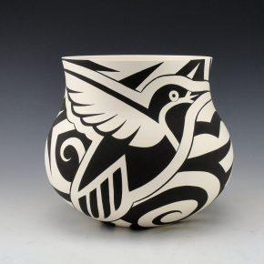 Lewis, Eric – Jar with Hummingbird