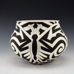 Lewis, Eric – Large Jar with Butterfly Design