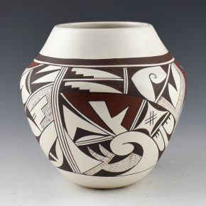 "Navasie, Joy ""Frogwoman"" – Jar with Birds (1980's)"