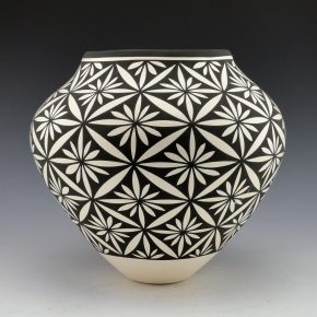 Victorino, Katherine – Jar with Flower Designs