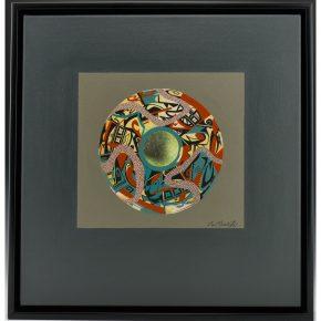 "Namingha, Les – ""Polychrome III (Dextra Series)"" Acrylic on Canvas"