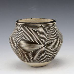 Lewis, Lucy – Jar with Double Star Pattern (1970's)
