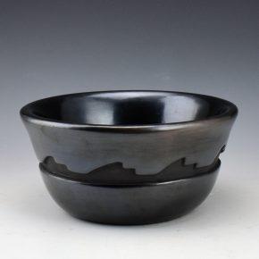 Archuleta,  Mary Ester – Open Bowl with Mountain Designs
