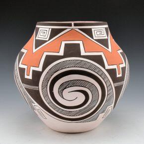 Sarracino, Myron – Red Clouds and Mesa Jar