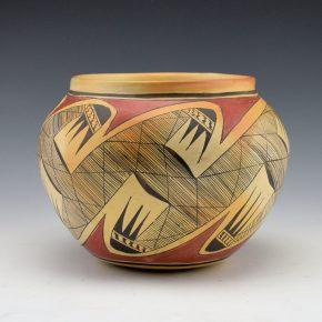 Nampeyo, Priscilla Namingha – Migration Design Jar (1970's)