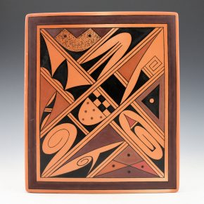 Setalla, Stetson – Large Tile with Hopi Designs