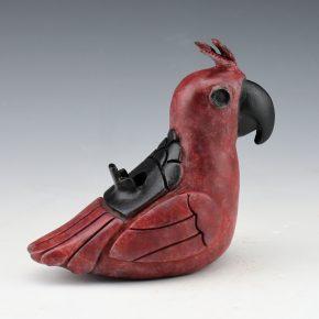 """Borts-Medlock, Autumn – Red """"Pueblo Parrot"""", 10/50"""