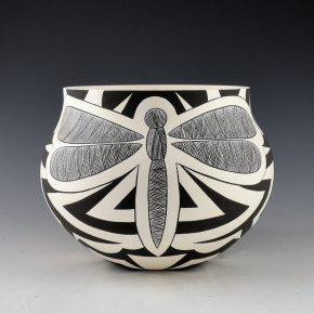 Lewis, Eric & Sharon Lewis – Dragonfly and Hummingbird Fineline Jar
