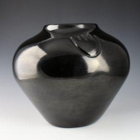 Ebelacker, Jason – Large Storage Jar with Bear Paws