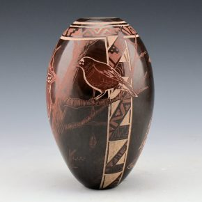 Naranjo, Johnathan – Jar with Birds