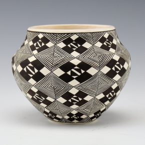 Lewis, Sharon – Jar with Star Designs