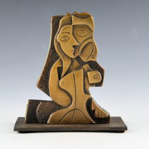 "Garcia, Tammy – ""Seeded Woman I"" Bronze.  Ed. 4/35"