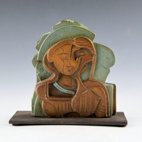 "Garcia, Tammy – ""Seeded Woman II"" Bronze.  4/35"