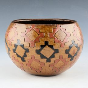 Williams, Lorraine – Bowl with Rug Pattern