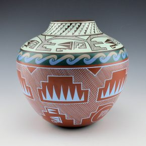 Namingha, Les – Contemporary Zuni Jar