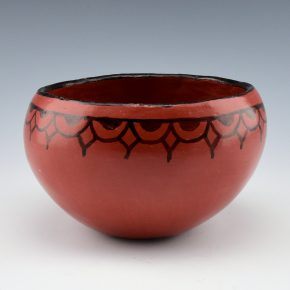 Sunn, Mabel – Bowl with Cloud and Rain Designs (1970's)