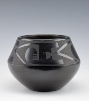 Roybal, Tonita – Bowl with Geometric Rain Designs (1920's)