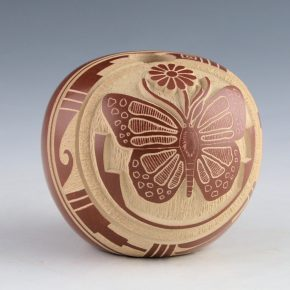Youvella, Wallace – Seedpot with Butterfly (1976-9)
