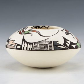 Concho, Carolyn – Bowl with Lizards