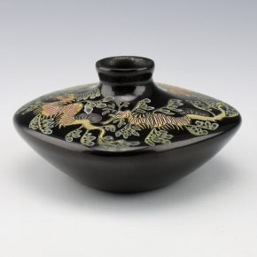 Moquino, Jennifer Tafoya – Jar with Four Leafy Sea Dragons