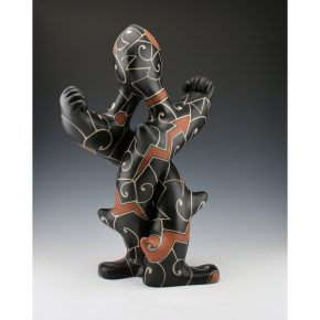 "Holt, Lisa & Harlan Reano – ""Twisted"" Clay Figure"