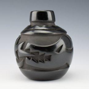 Naranjo, Madeline – Carved Jar with Avanyu (1970's)