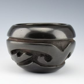 Cain, Mary – Bowl with Cloud and Lightning Design (1990's)