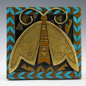 "Garcia, Tammy – ""Gold Moth"" Bronze, 19/35"